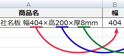 EXCEL小技集:特定の文字列と文字列の間の値を抽出する方法
