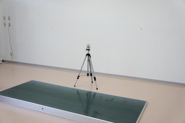 大型黒板取付施工レポート1