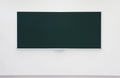 大型黒板・施工レポート:W2700×H1200大型黒板の施工に行ってきました~