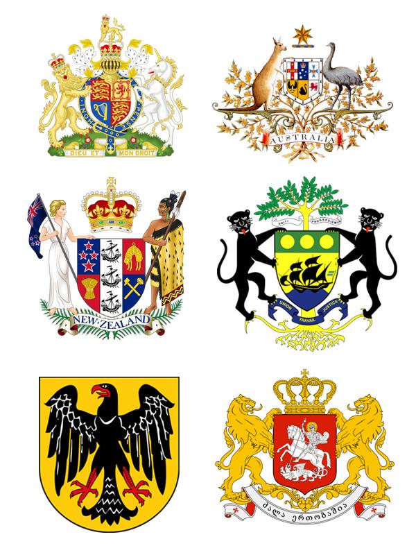 各国の国章
