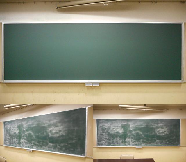 黒板リニューアル 施工