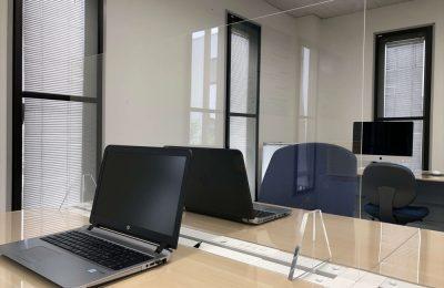 飛沫感染防止でウイルスに負けないオフィスを!! 新商品・飛散防止パネル
